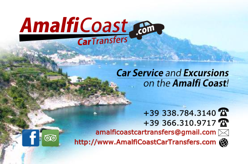 Amalfi Coast Car Transfers